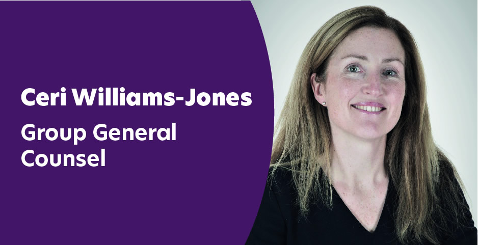 Ceri Williams-Jones - Group General Counsel