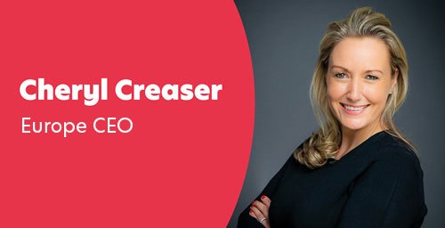 Cheryl Creaser - Chief Executive Officer, UK